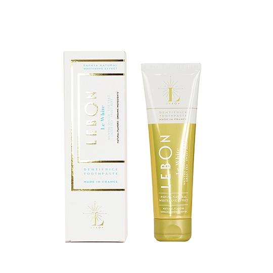 LEBON'天然香氛牙膏绿茶薄荷香型-自然纯净的白